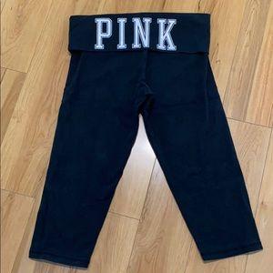 PINK Victoria's Secret Yoga Capri Pant